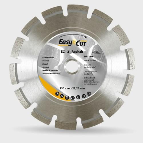 Deimantinis diskas Cedima EC-31 350×25,4 (asfaltas)
