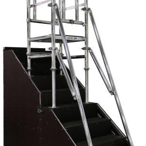 Stairpod+500,+stair+access,+Aluminium+access+tower+system,+Euro+Towers,+aluminium+podium